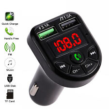 Bluetooth 5.0 Fm Transmitter Car Kit Mp3 Modulator Player - 2 Day Delivery