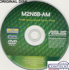 ASUS GENUINE VINTAGE ORIGINAL DISK FOR M2N68-AM Motherboard Drivers Disk M2262