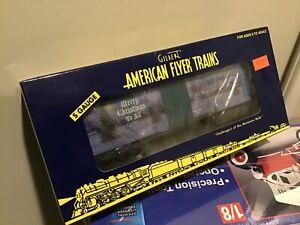 AMERICAN FLYER/Lionel S Scale #6-48368 2007 Christmas Holiday Boxcar ~NIB~ Nos