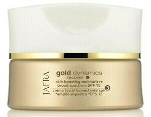 Jafra Gold Dynamics Recover Skin Boosting Moisturizer Broad Spectrum SPF 15