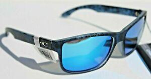 O'NEILL Anso POLARIZED Sunglasses Crystal Liquid/Blue Mirror Surf/Beach NEW
