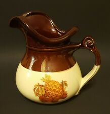 McCoy pitcher #7515  Very Good Condition Pinneapple and Strawberries