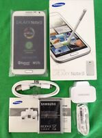 SAMSUNG GALAXY NOTE 2 GT-N7100 16GB BRAND NEW WHITE UNUSED UNLOCKED+ACCESSORIES