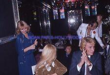 SYLVIE VARTAN JOHNNY HALLYDAY 70s DIAPOSITIVE DE PRESSE ORIGINAL VINTAGE #117
