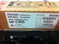 original Ricoh Tóner 841595 842082 TIPO MPC305E cian NUEVO B