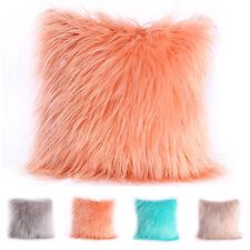 Lusso Peloso Copricuscino Furry Sciolti Decorativo Morbido Federa Peluche