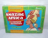 Amazing Africa A Cultural Adventure Card Game Ages 11+ Learning Resources New