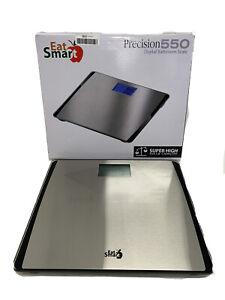 EatSmart Precision 550 Pound Extra-High Capacity Digital Bathroom Scale- READ Op