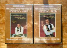 The Award Winning Card Magic of Martin Nash Volumes 1 & 2 - card magic DVDs
