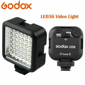 GODOX LED 36 Video Lamp Light for Canon Nikon DSLR Camera Camcorder DV