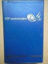 Catalogue du Salon du Bourget 1969 - 60è anniversaire - Industries aéronautiques