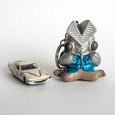 Ultraman Tomica Mazda Cosmo Sport Ultraman MAT Cars and Baltan Keychain Set of 2