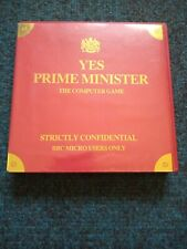 Yes Prime Minister cassette tape by Mosaic Publishing for the BBC micro