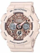 Casio G-Shock Womens Ana-Digital Pink/Pink Gold Watch GMAS120MF-4A