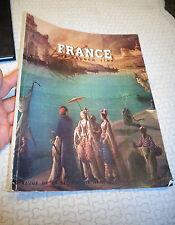 FRANCE VIA FRENCH LINE de la Compagnie Générale Transatlantique 1952 Paquebot