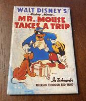 Vintage 1994 Walt Disney Mickey Mouse Takes A Trip Pluto Police Magnet
