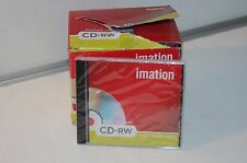 [Pack 10 Spindle] Imation CD-RW 700mb/ 80 Min / 1x-4x With Seals Individual Case