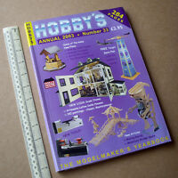 2003 Hobby's Annual Catalogue #33 Dolls Houses Horse Drawn Boats Lineside Clocks