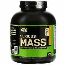 Serious Mass, High Protein Weight Gain Powder, Banana, 6 lbs (2.72 kg)