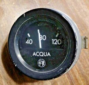 Veglia, Alfa Romeo, Water Aqua Temperature Gauge & Trim
