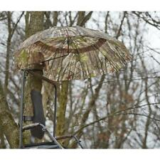 Large 54 in Umbrella Deer Hunting 2-person Tree Stand Ground Conceal Steel Frame