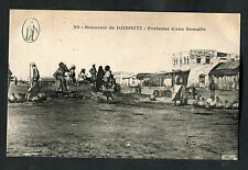 C1910 View of Somali Water Carriers, Djibouti