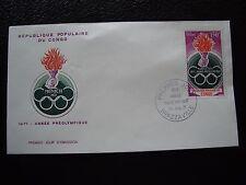 CONGO (brazzaville) - enveloppe 1er jour 20/7/1971 (B1)