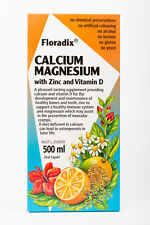 Floradix Calcium Magnesium Zinc & Vitamin D 500ml