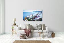 Wandtattoo Wandsticker Aufkleber Santorini Griechenland Grösse: 120 x 70 cm