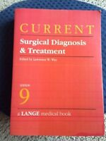 Current Surgical Diagnosis and Treatment (1991, Paperback)