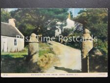 Vintage Tucks - Herm Island C I - Entrance to the Drive - Island off Guernsey