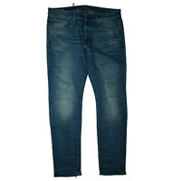 G-STAR 3301 Herren Jeans stretch Hose slim fit 32/32 W32 L32 Blau C23