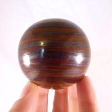'A' Grade Rare Polished Tiger Iron 'Jupiter Jasper' Sphere Ball - 58mm, 322g