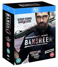 Banshee Season 1-4 [Blu-ray][2016][The Complete Series Season 1 2 3 4][15 Discs]