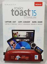 Roxio Toast 15 Titanium Software Factory Sealed Retail Box