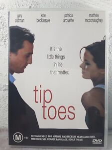 Tip Toes region 4 DVD RARE (2003 Matthew McConaughey) comedy / drama movie
