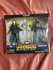Hasbro Loki & Corvus Glaive Marvel Legends 6 inch Action Figure