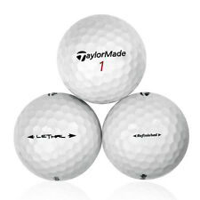 120 Taylormade Lethal Refinished Used Golf Balls *No Markings or Logos*