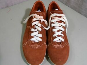 Brown Suede Bowling Shoes Women Size 8