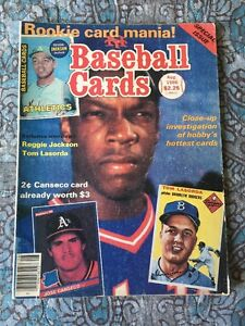 Baseball Cards Magazine August 1986 Dwight Golden New York Mets