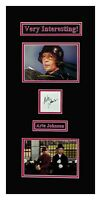 Arte Johnson in Person Autograph Laugh In Characters Matted Ready to Frame