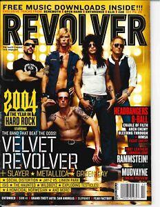 Revolver MagazineFebruary 2005Velvet Revolver Slayer Metallica Green Day SUM41