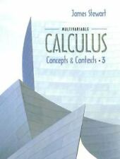Multivariable Calculus: Concepts and Contexts, James Stewart, 0534410022, Book,