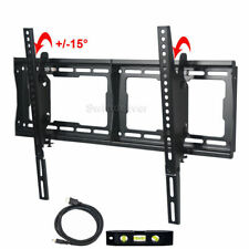 "Tilt TV Wall Mount Bracket for 32 37 42 46 48 50 55 60 70 75"" LED LCD Plasma CXX"