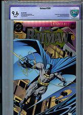 Batman #500 CBCS Graded 9.6 NM+ 1993 DC Comics 1st Azreal