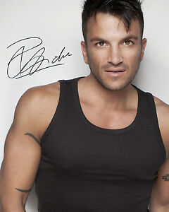 PETER ANDRE #2 - 10X8 PRE PRINTED LAB QUALITY PHOTO PRINT