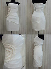 Strapless Formal Cocktail Prom Wedding Evening Gown Ball Party Dress Plus Sz New