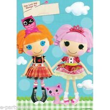 LALALOOPSY PASTEL FAVOR BAGS (8) ~ Birthday Party Supplies Mittens Crumbs Girl