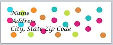 Personalized Address labels Polka Dots Buy 3 Get 1 Free (pk 14)