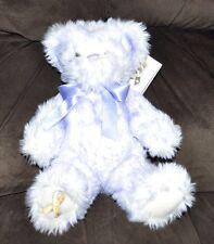 Build a Bear 'NIKKI'S LAVENDER TIP BEAR GIGGLES' Gold Ribbon Child Cancer Plush